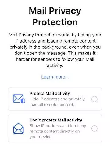 ios 15 mail privacy protection